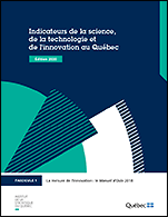 Indicateurs de la science, de la technologie et de l'innovation, édition 2020.